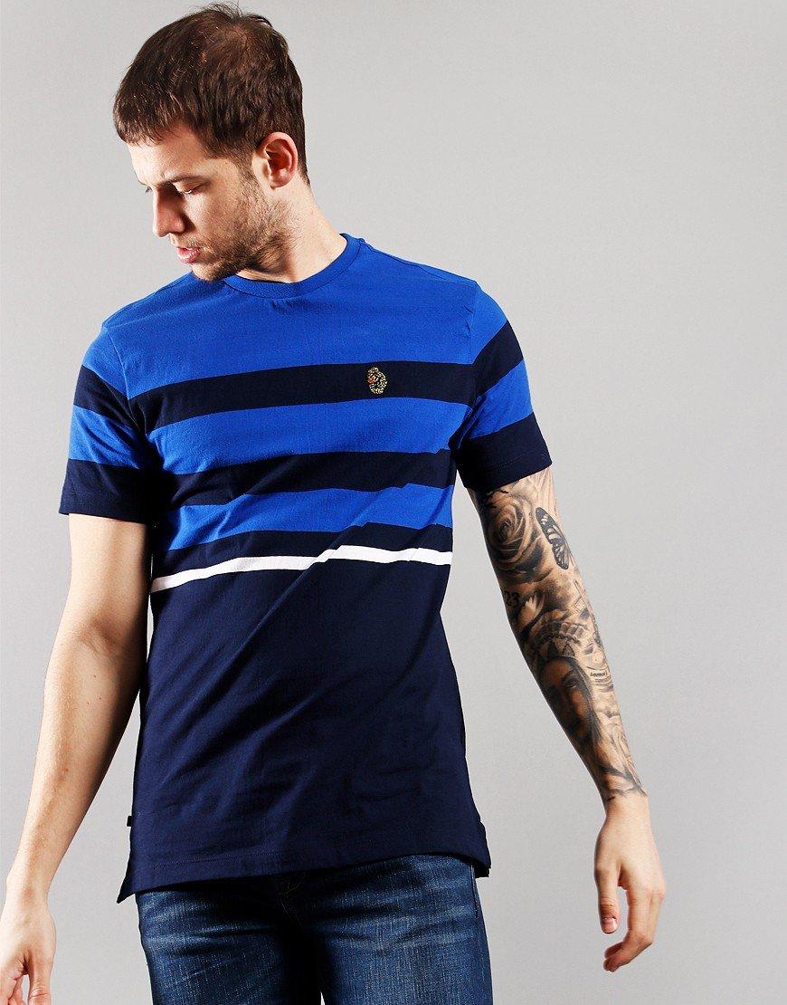 Luke 1977 Stride Stripe T-Shirt Very Dark Navy