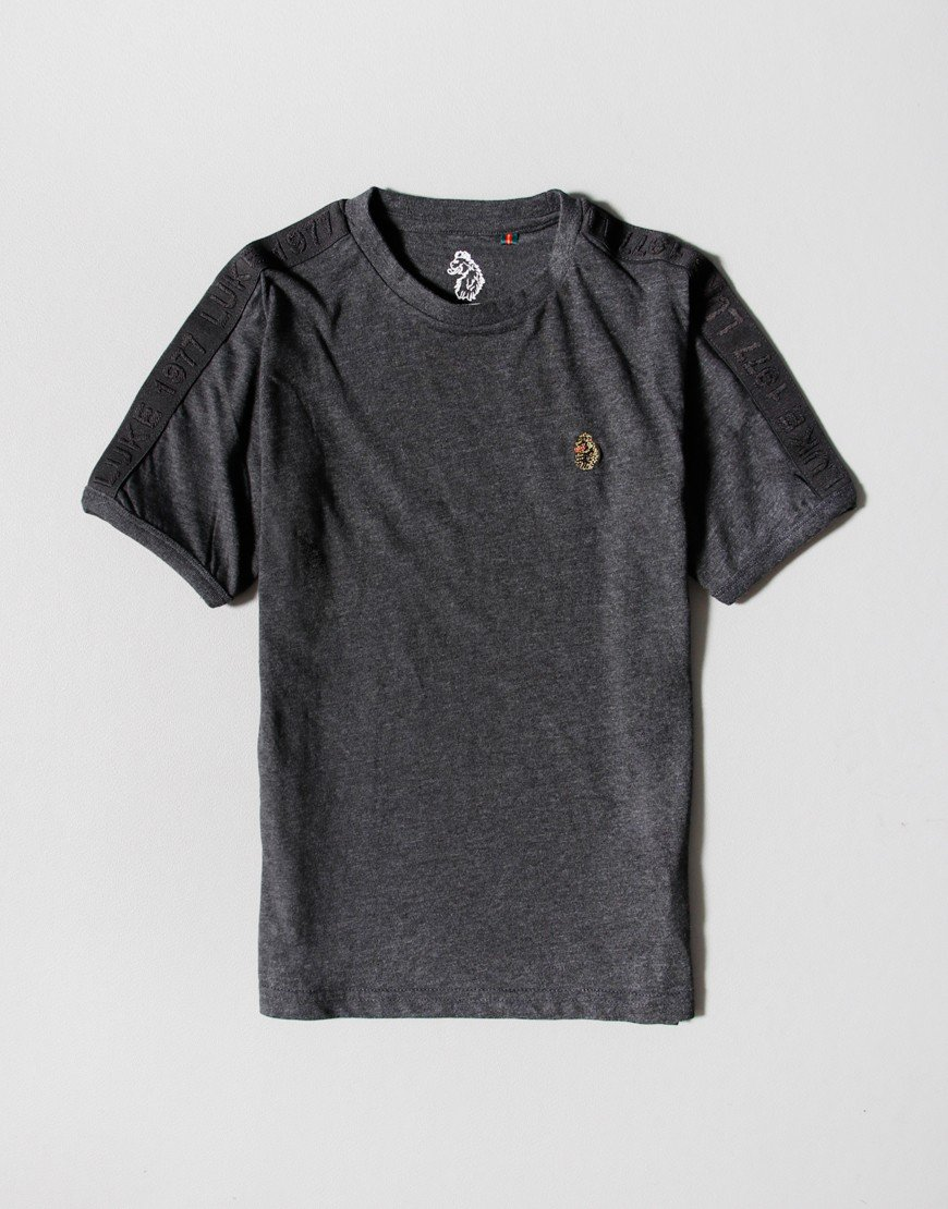 Luke 1977 Kids Tape Trouser T-shirt Charcoal