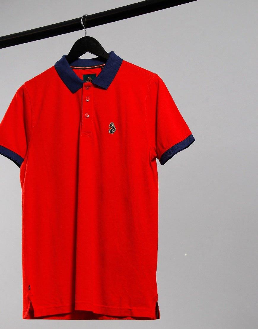 Luke 1977 Texas Polo Shirt Brick
