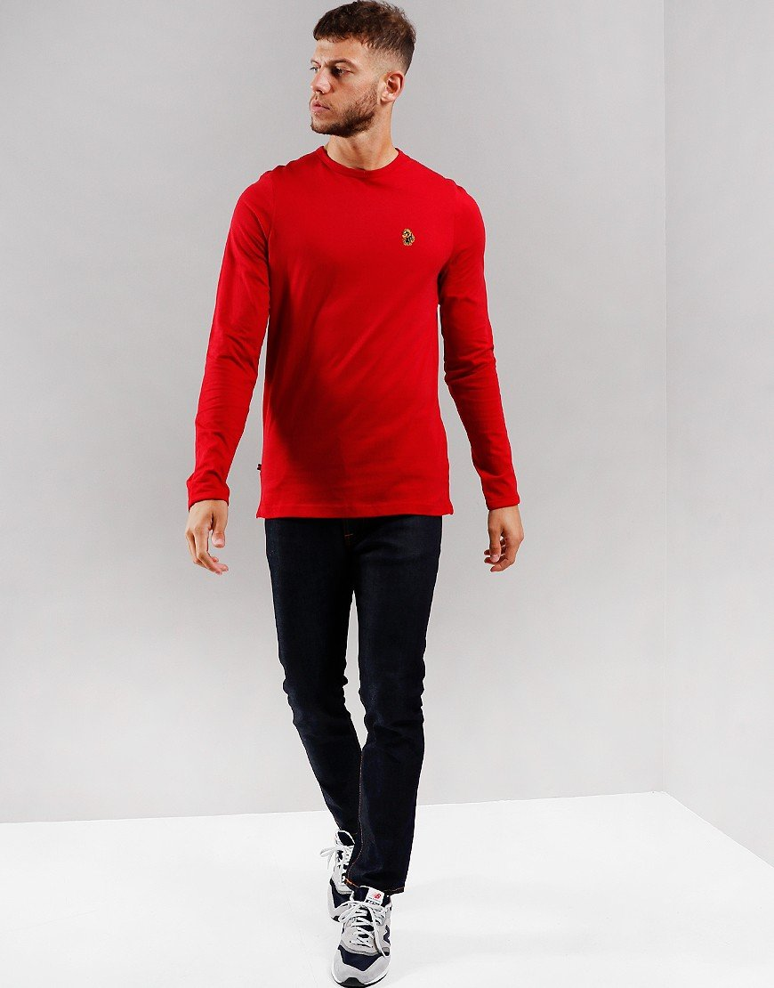 Luke 1977 Trousersnake Long Sleeve T-Shirt Chilli Red