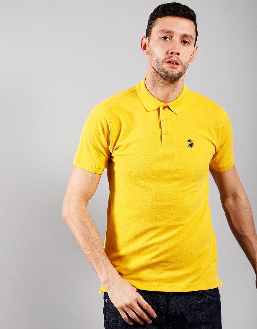 Luke 1977 Williams Polo Shirt Portuguese Gold