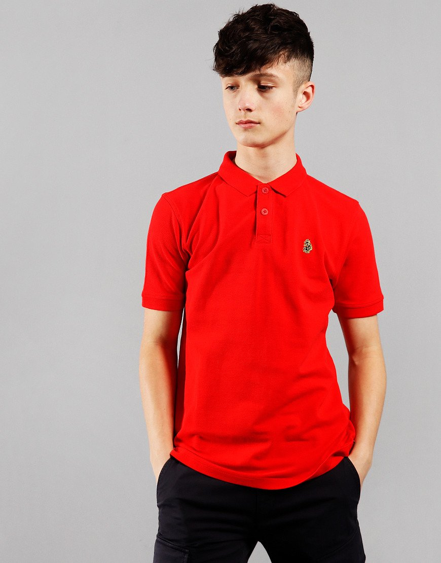 Luke 1977 Kids Williams Polo Shirt City Red