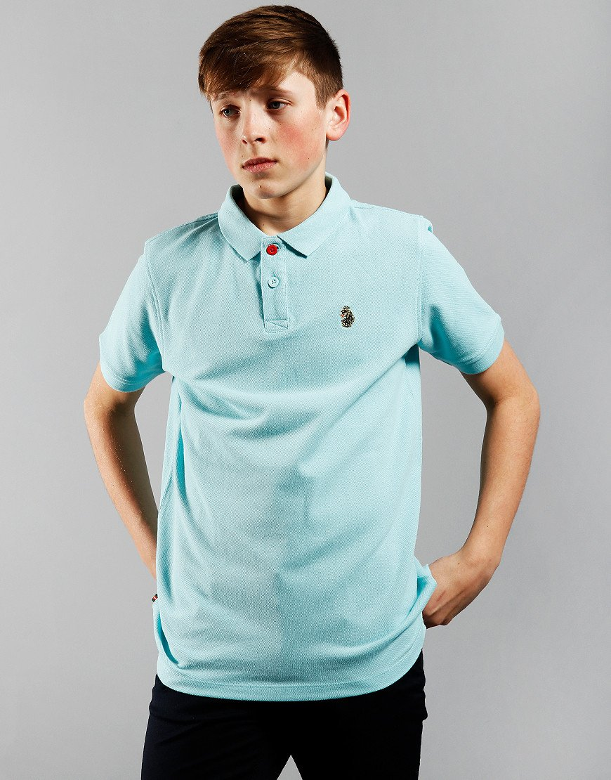 Luke 1977 Kids Williams Polo Shirt Pure Sky