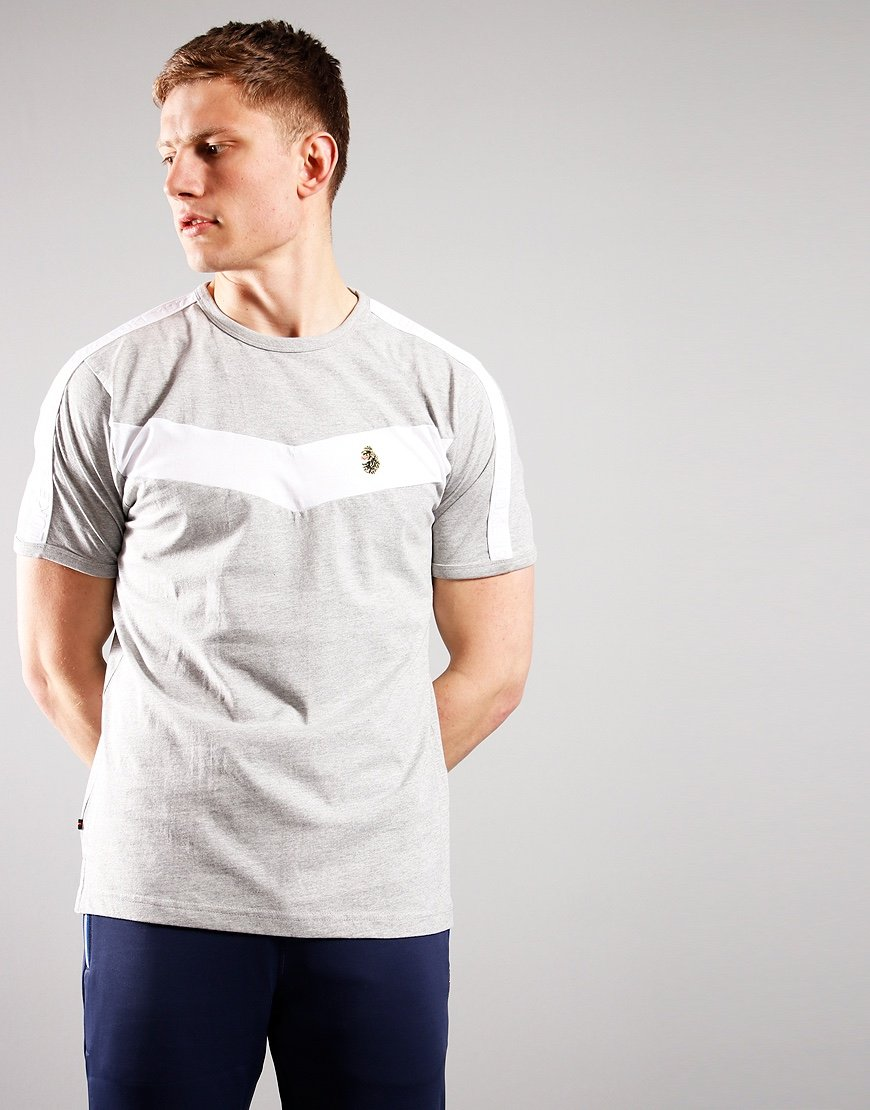 Luke 1977 Calvia T-Shirt Mid Grey