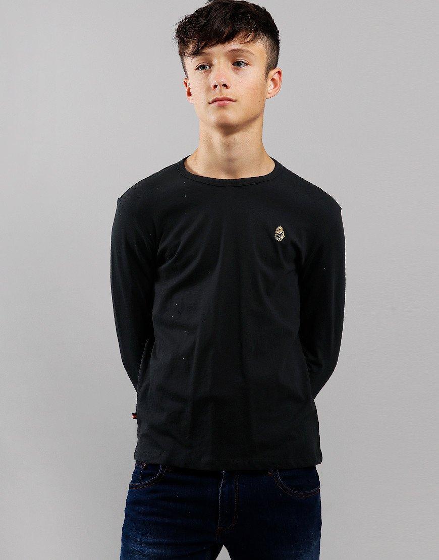 Luke 1977 Kids Trousersnake Long Sleeved T-Shirt Black