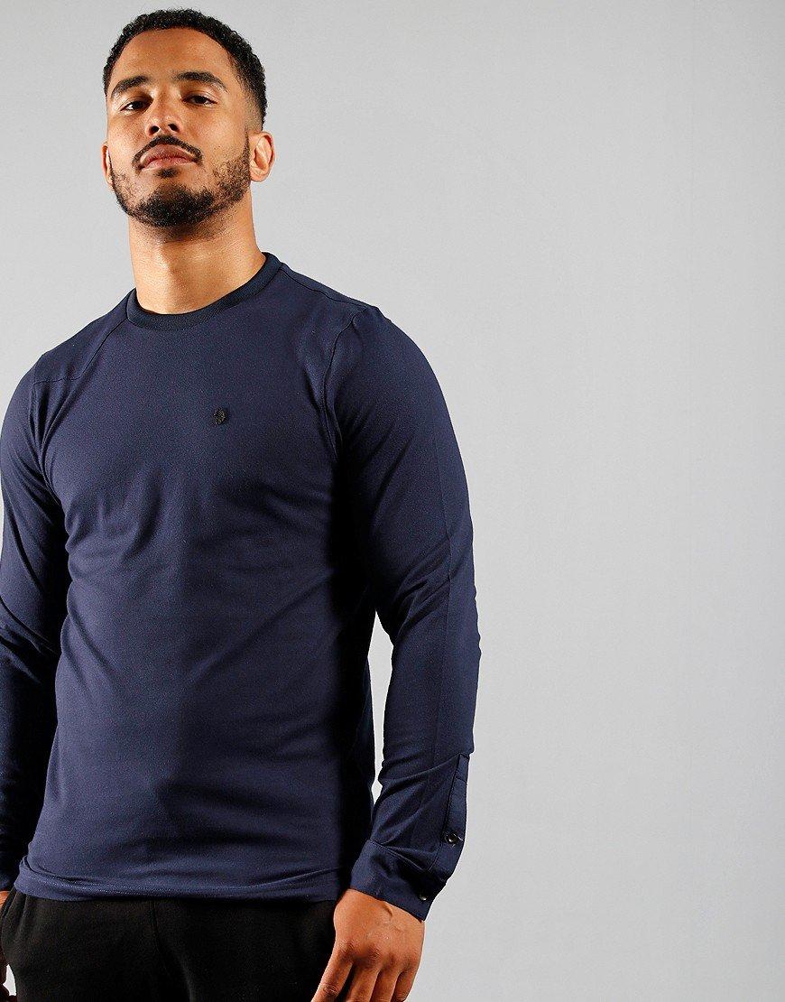 Luke 1977 Long Master Clarke T-Shirt Navy
