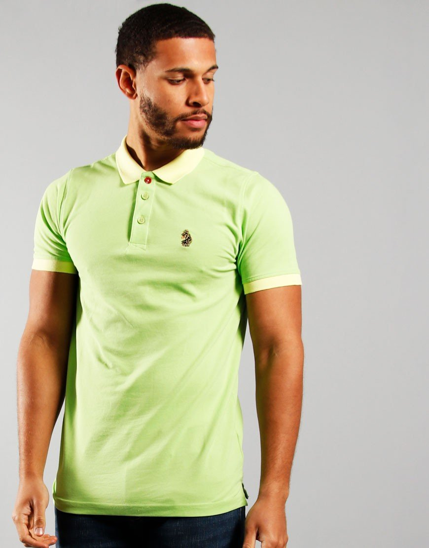 Luke 1977 Texas Polo Shirt Pear Green
