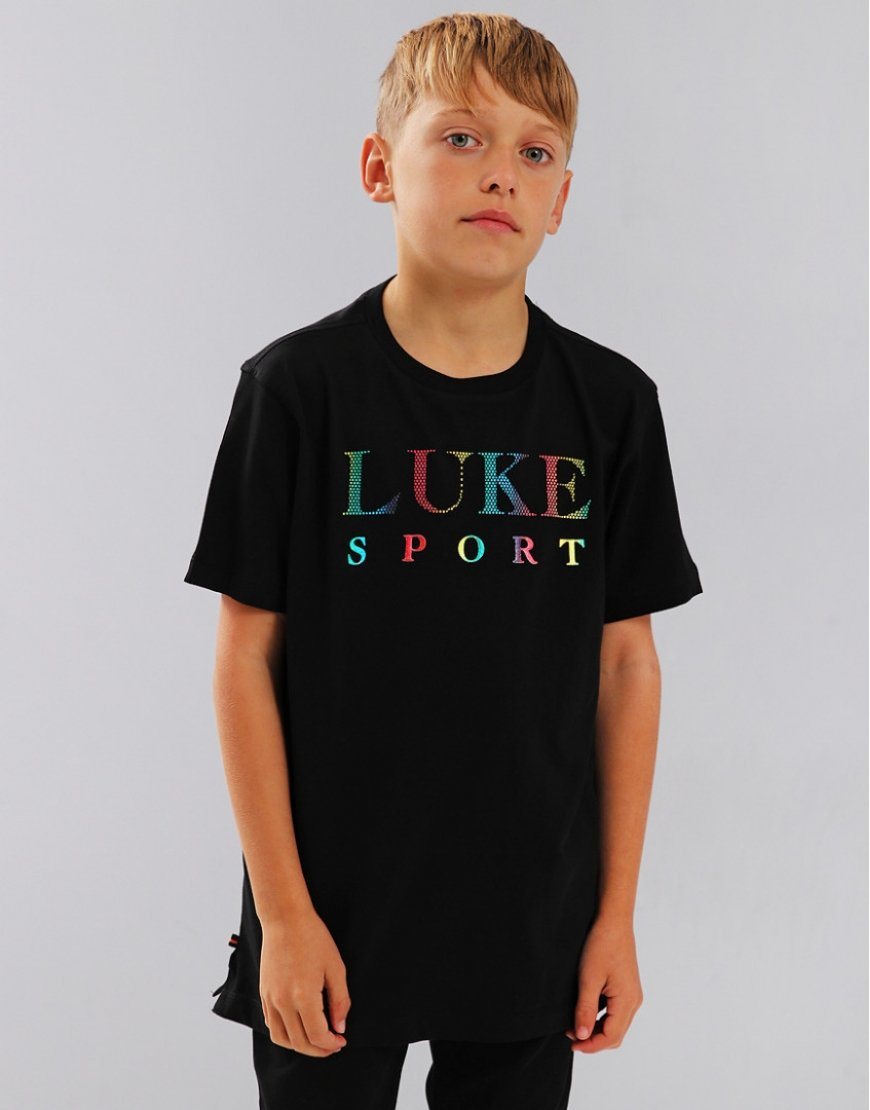 Luke 1977 Junior Maximum Boy T-Shirt Black
