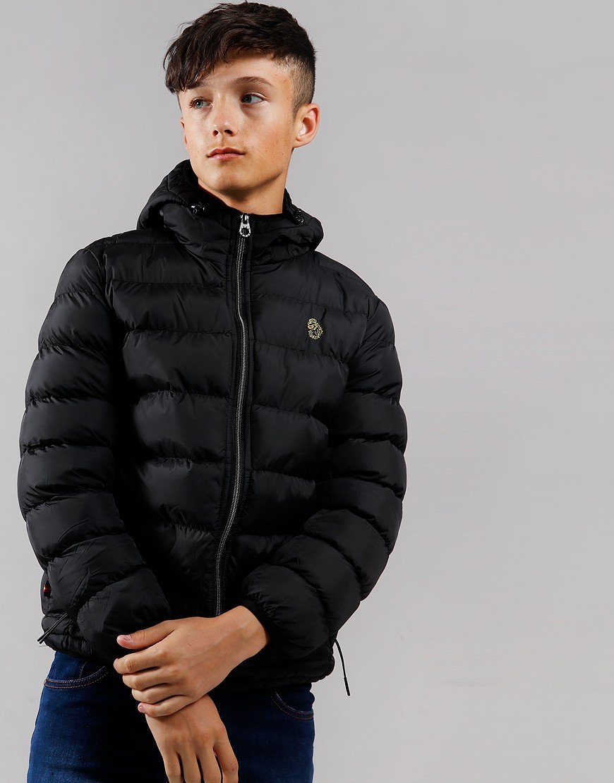 Luke 1977 Kids South Pol Padded Jacket Black