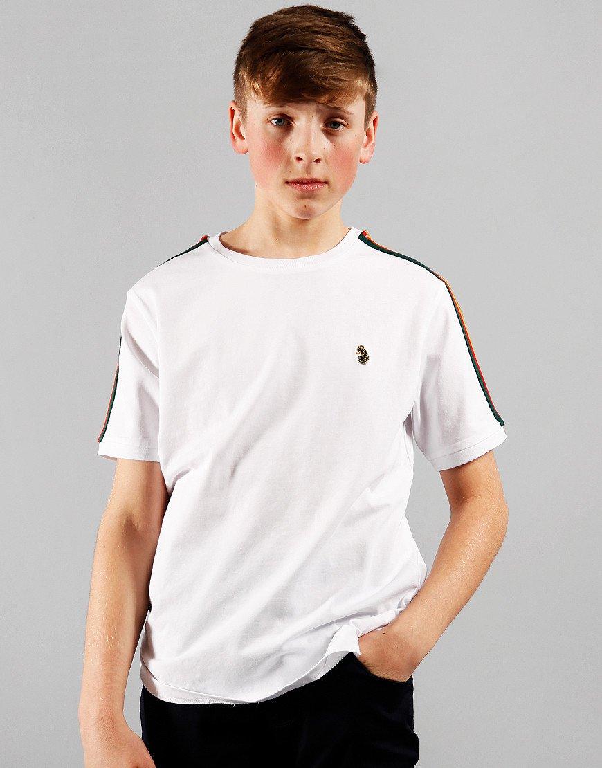 Luke 1977 Kids Iron Tape T-Shirt White