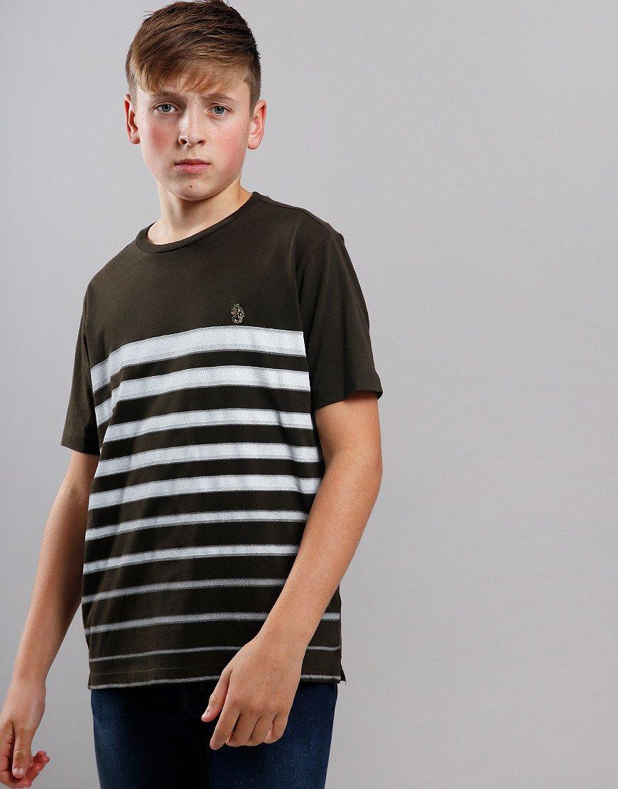 Luke 1977 Kids Option 1 T-Shirt Khaki/White