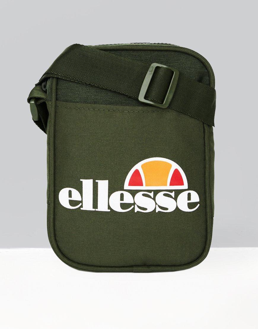 Ellesse Lukka Side Bag Khaki