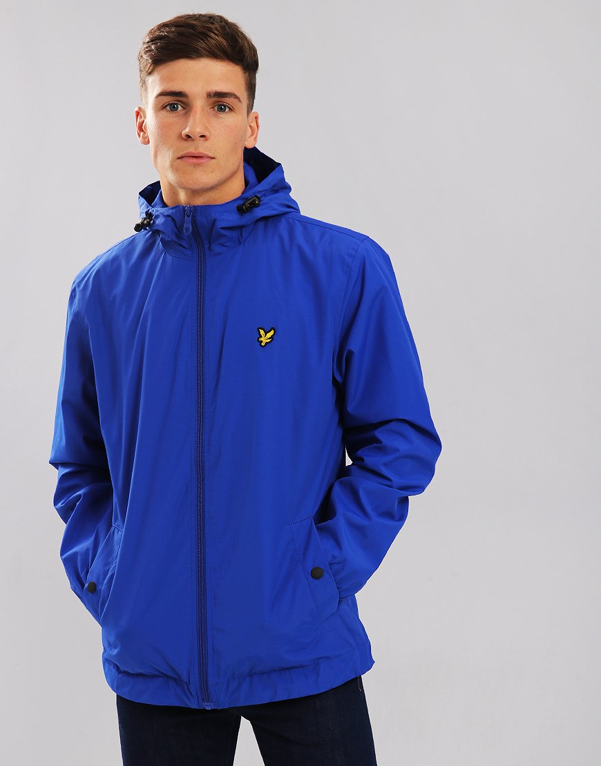 Lyle & Scott Hooded Jacket Duke Blue