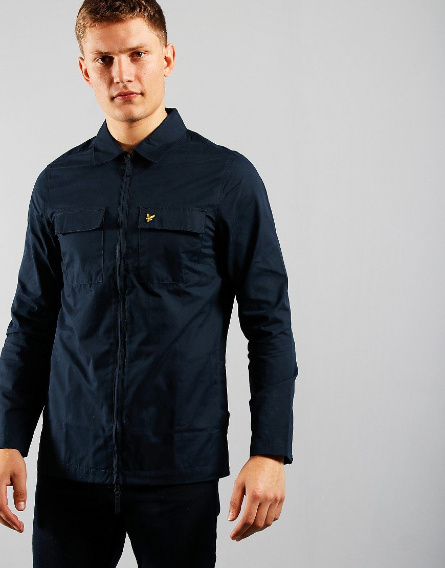 Lyle & Scott Overshirt Dark Navy