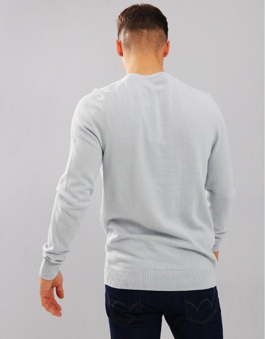 c3d0df9fdfaa0a Lyle   Scott Vin AW18 Knitwear Merino Crew GB - Terraces Menswear