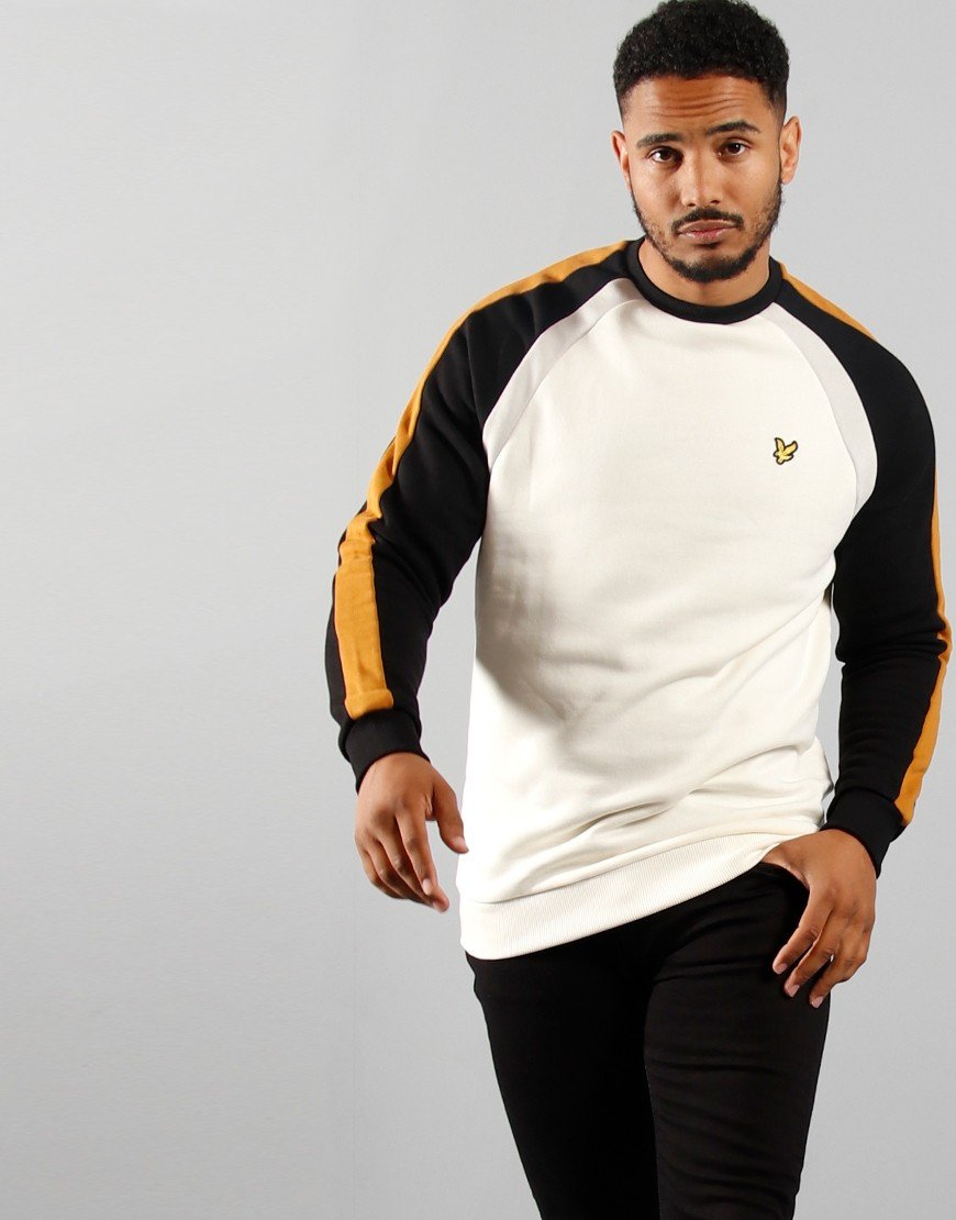 Lyle & Scott 3 Panel Sweat Shirt Vanilla Ice