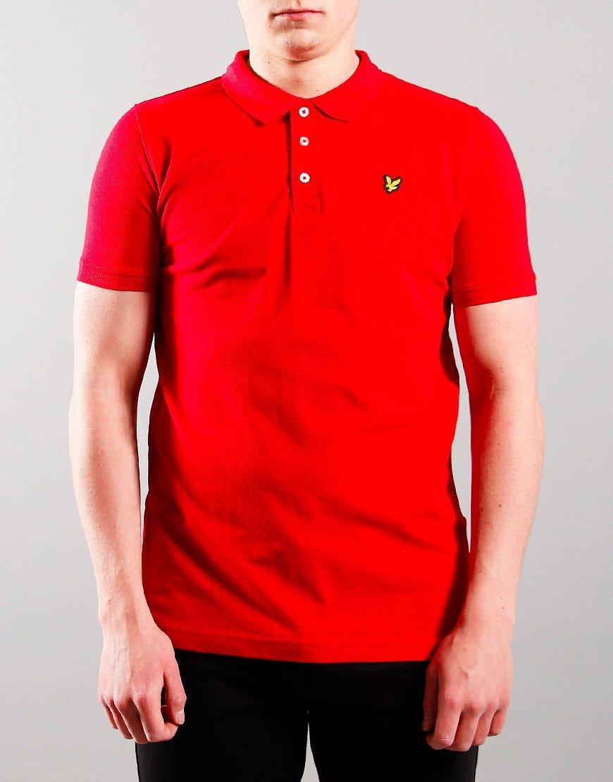 Lyle & Scott Junior Classic Polo Shirt Tango Red