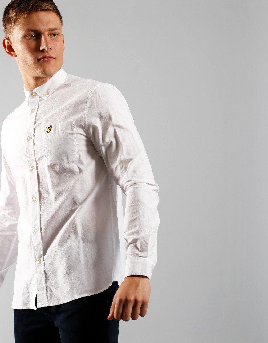 Lyle & Scott Oxford White Shirt