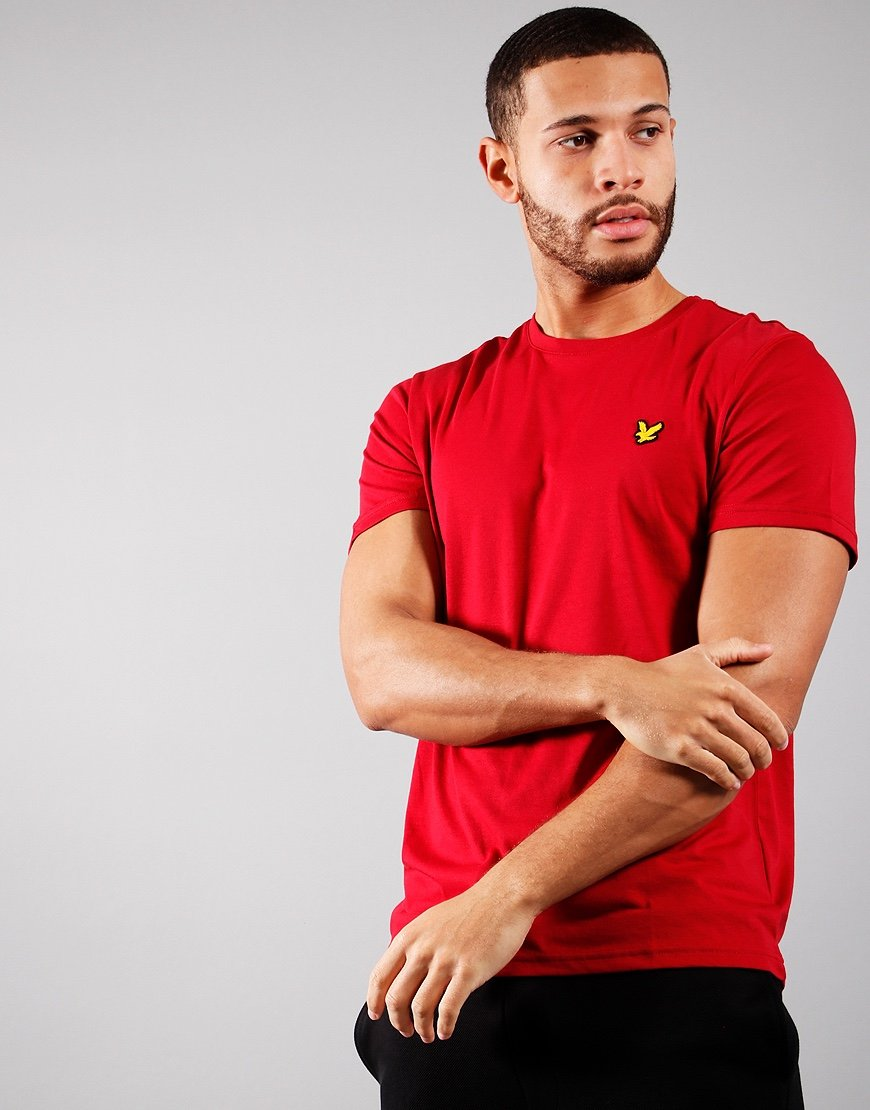 Lyle & Scott Martin T-Shirt Ruby