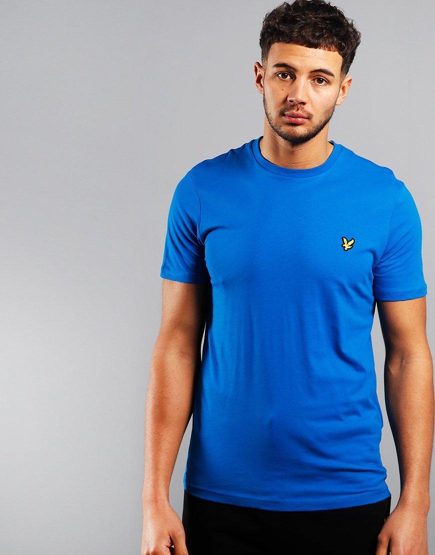 Lyle & Scott Plain T-Shirt Bright Cobalt