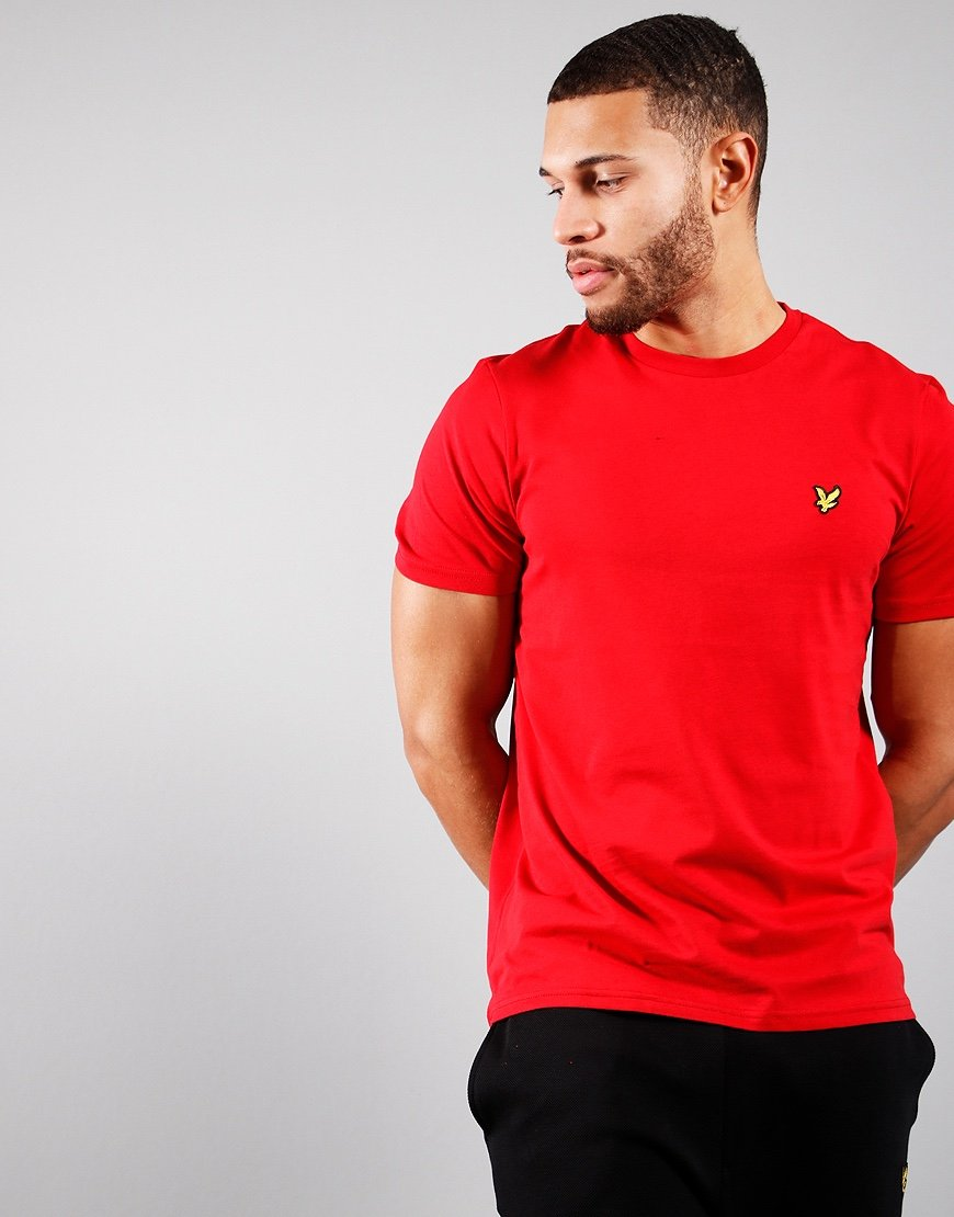 Lyle & Scott Plain T-Shirt Chilli-Pepper Red