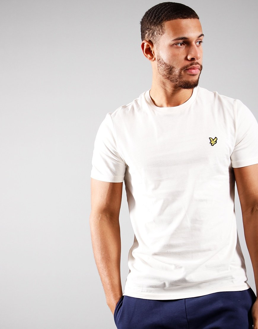 Lyle & Scott Plain T-Shirt Vanilla Ice