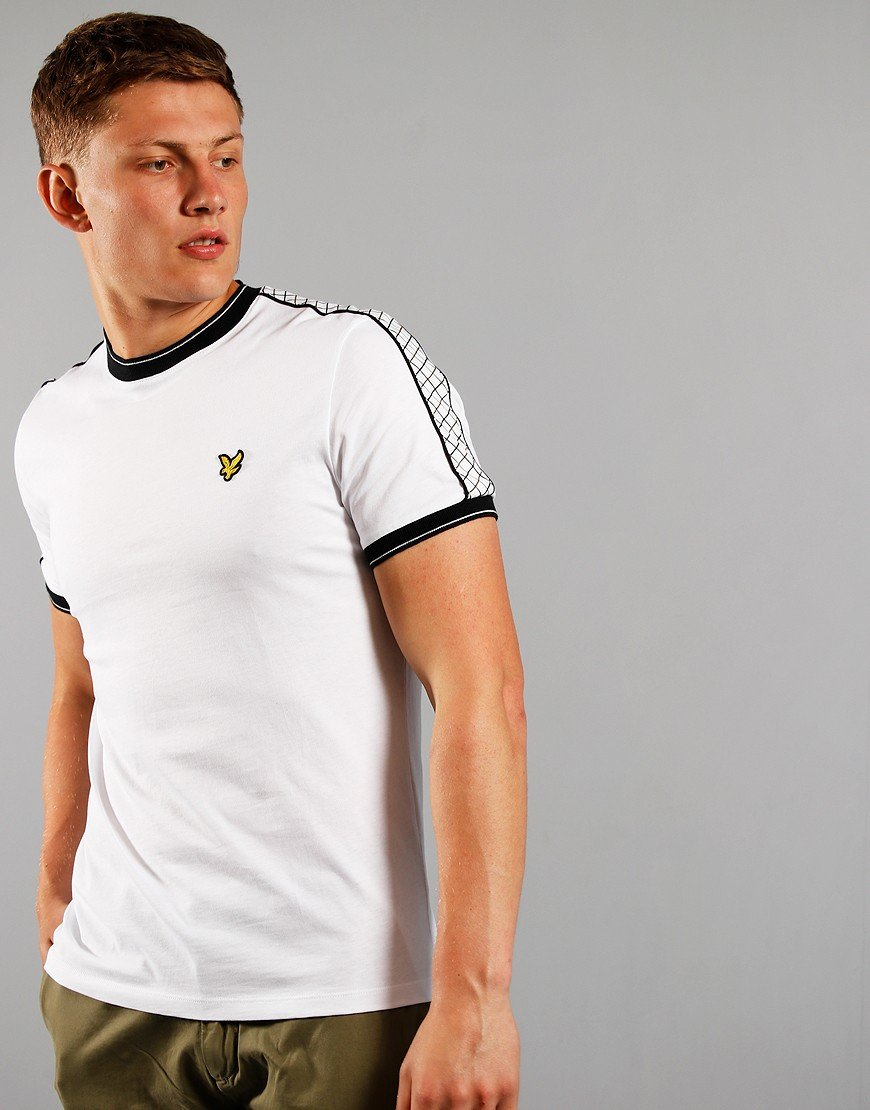 Lyle & Scott Tape Ring T-Shirt White
