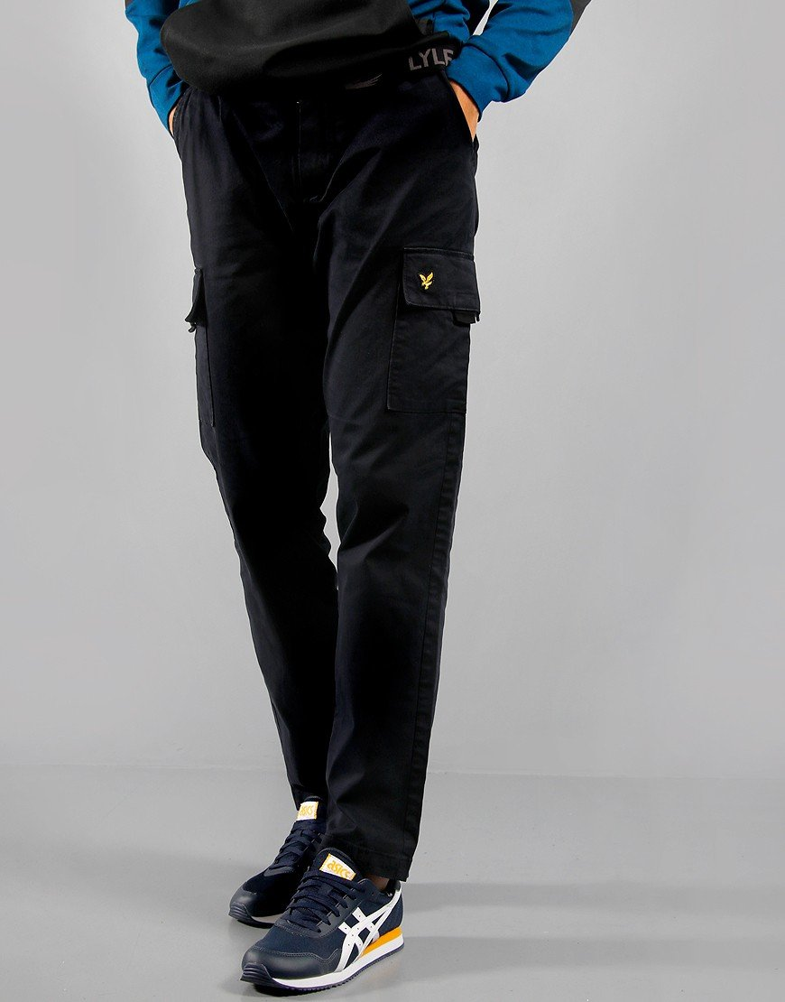 Lyle & Scott Cargo Trousers Navy