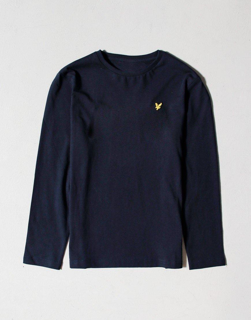 Lyle & Scott Junior Long Sleeve Classic T-Shirt Navy