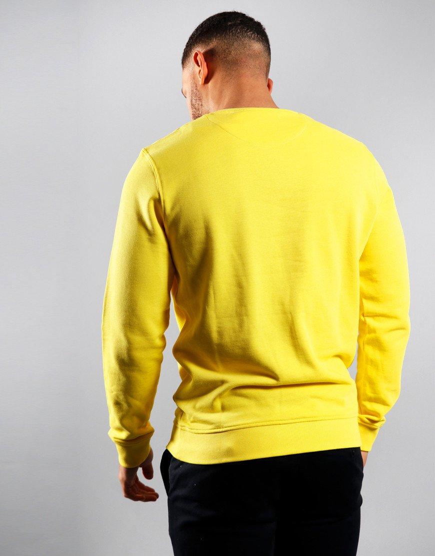 Lyle & Scott Crew Neck Sweat Buttercream Yellow