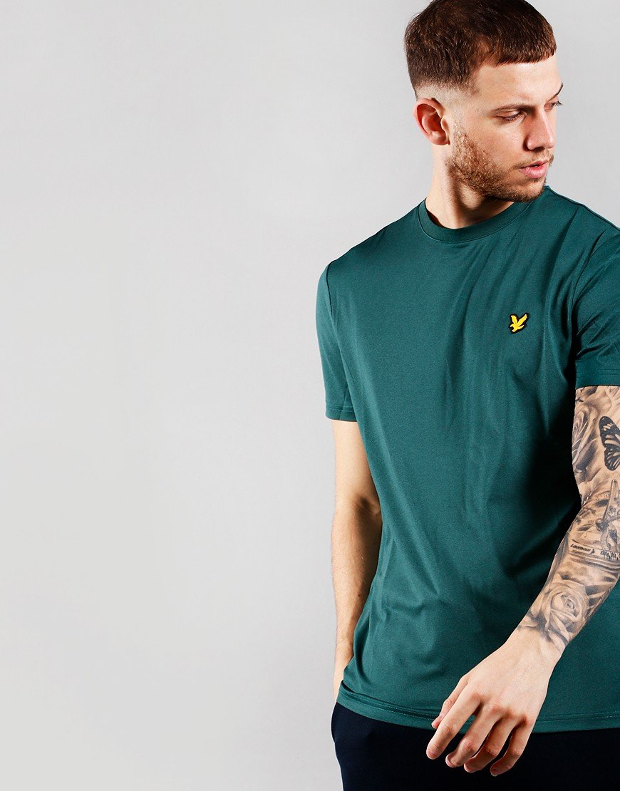 Lyle & Scott Eagle Trail T-Shirt Everglade Marl