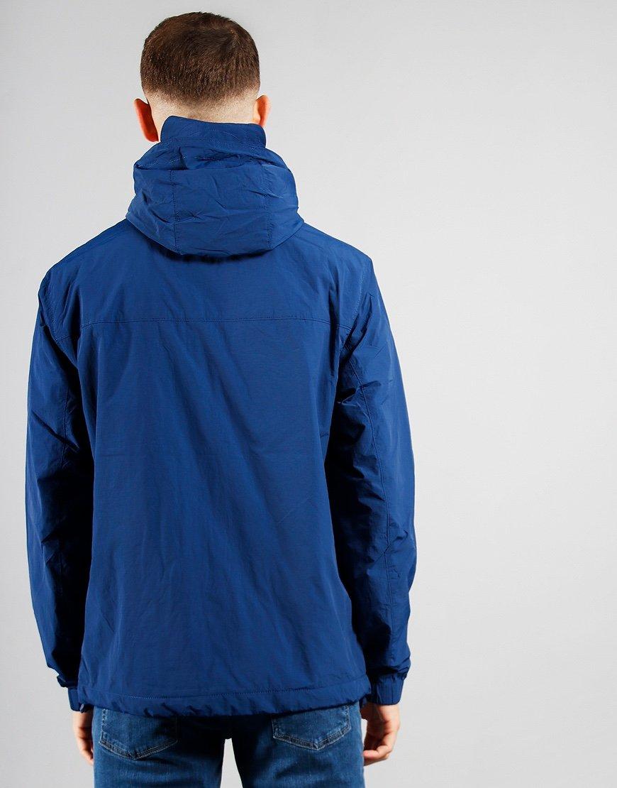 Lyle & Scott Hooded Pocket Jacket Indigo