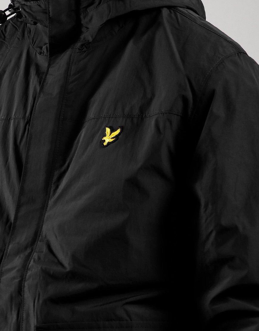 Lyle & Scott Hooded Pocket Jacket Jet Black