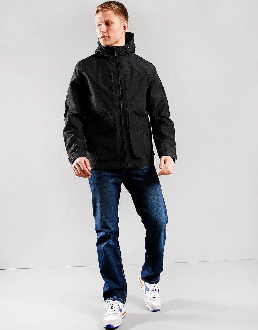 Lyle & Scott Hooded Jacket Jet Black