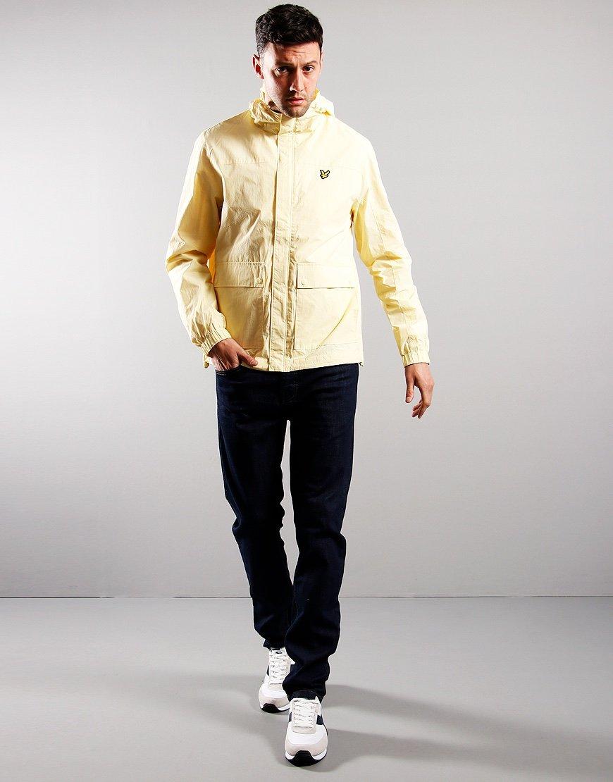 Lyle & Scott Hooded Pocket Jacket Lemon