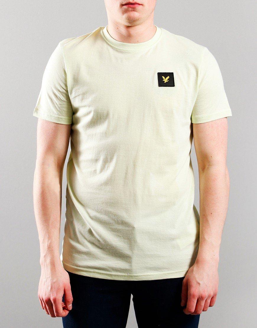 Lyle & Scott Junior Casual Classic T-Shirt Lime Cream