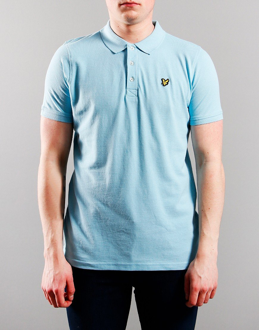 Lyle & Scott Junior Classic Polo Shirt Sky Blue