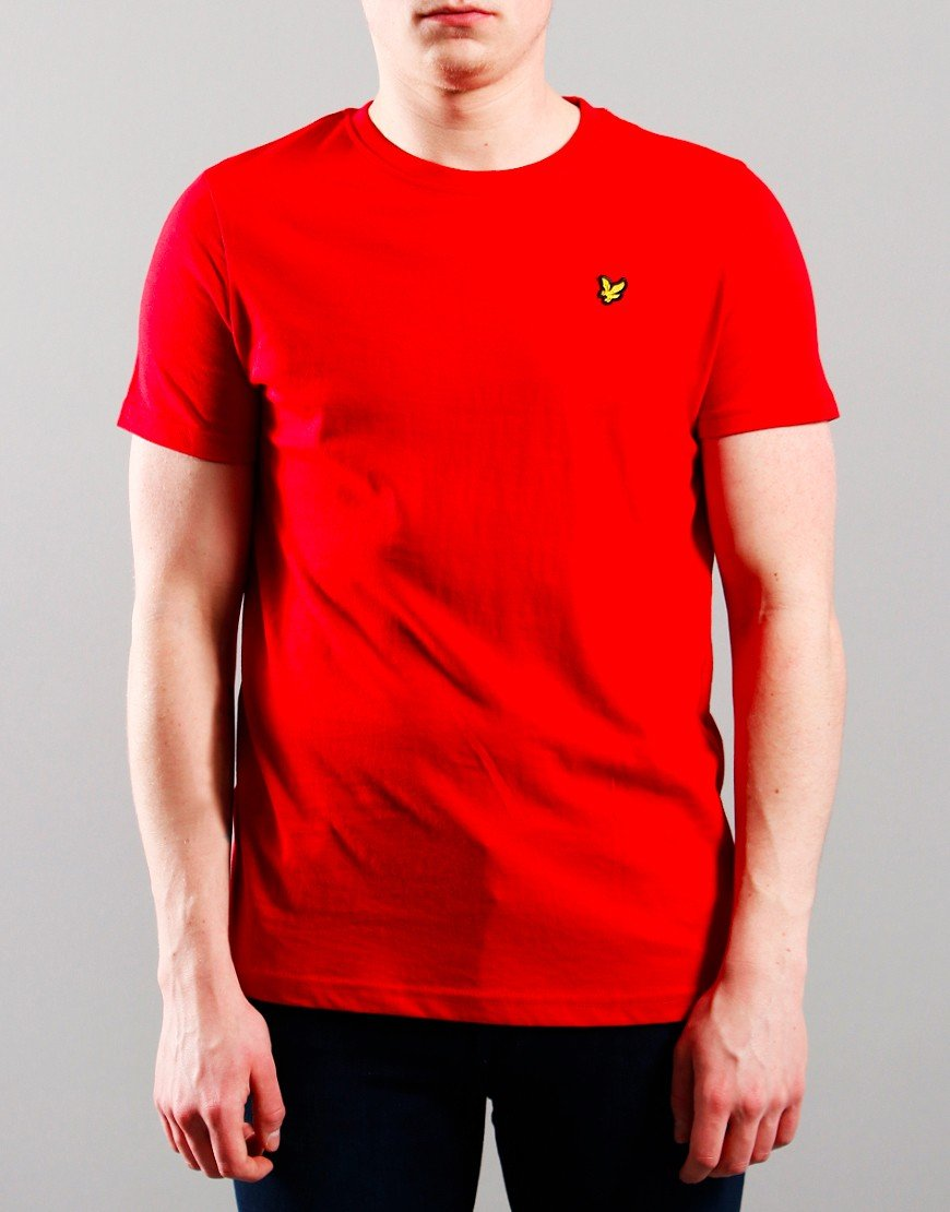 Lyle & Scott Junior Classic T-Shirt Tango Red