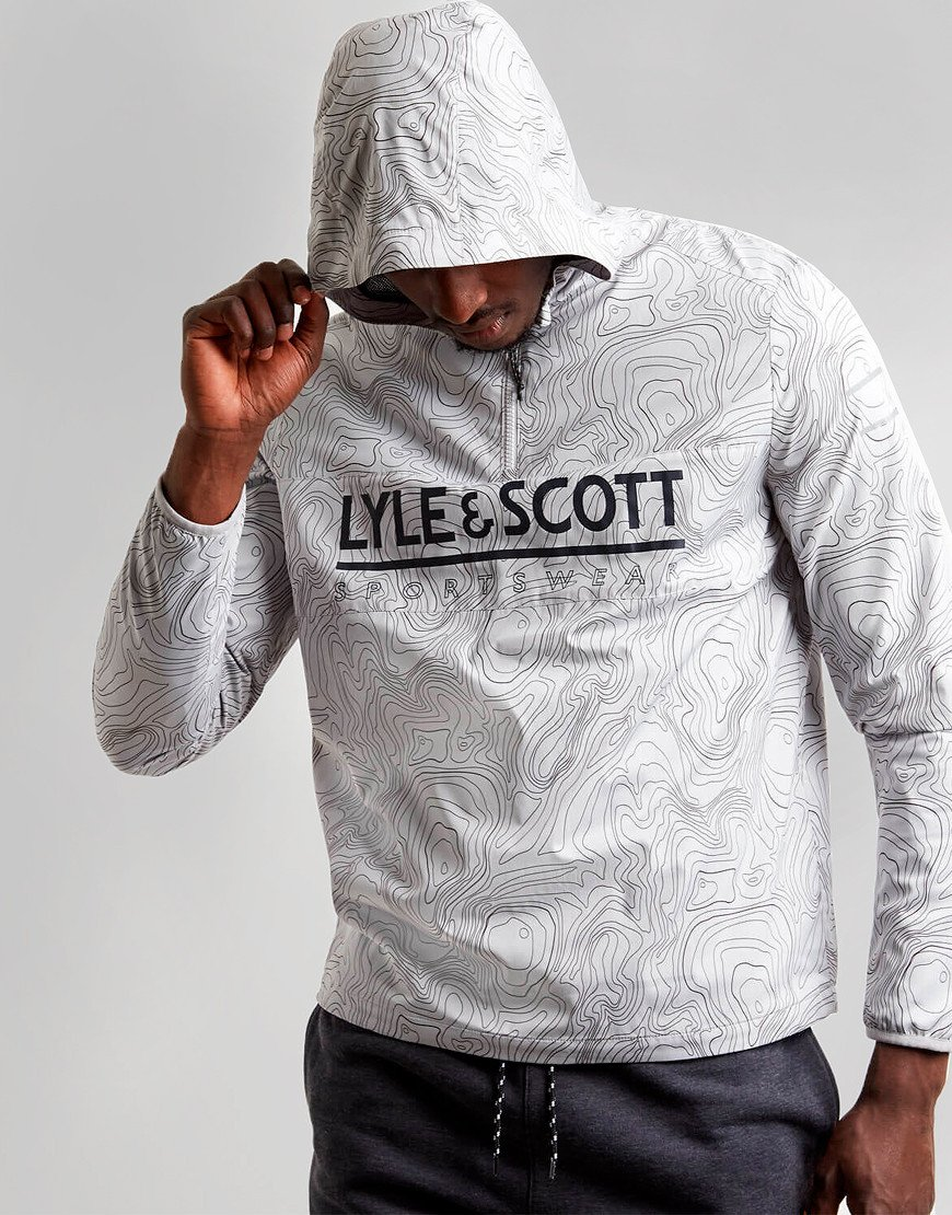 Lyle & Scott Over The Head Anorak City Grey