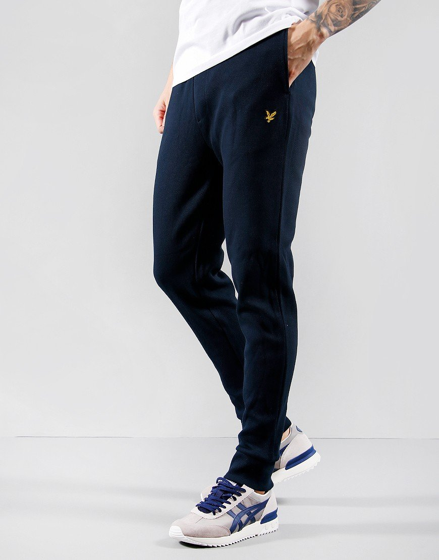 Lyle & Scott Pique Track Pants Dark Navy