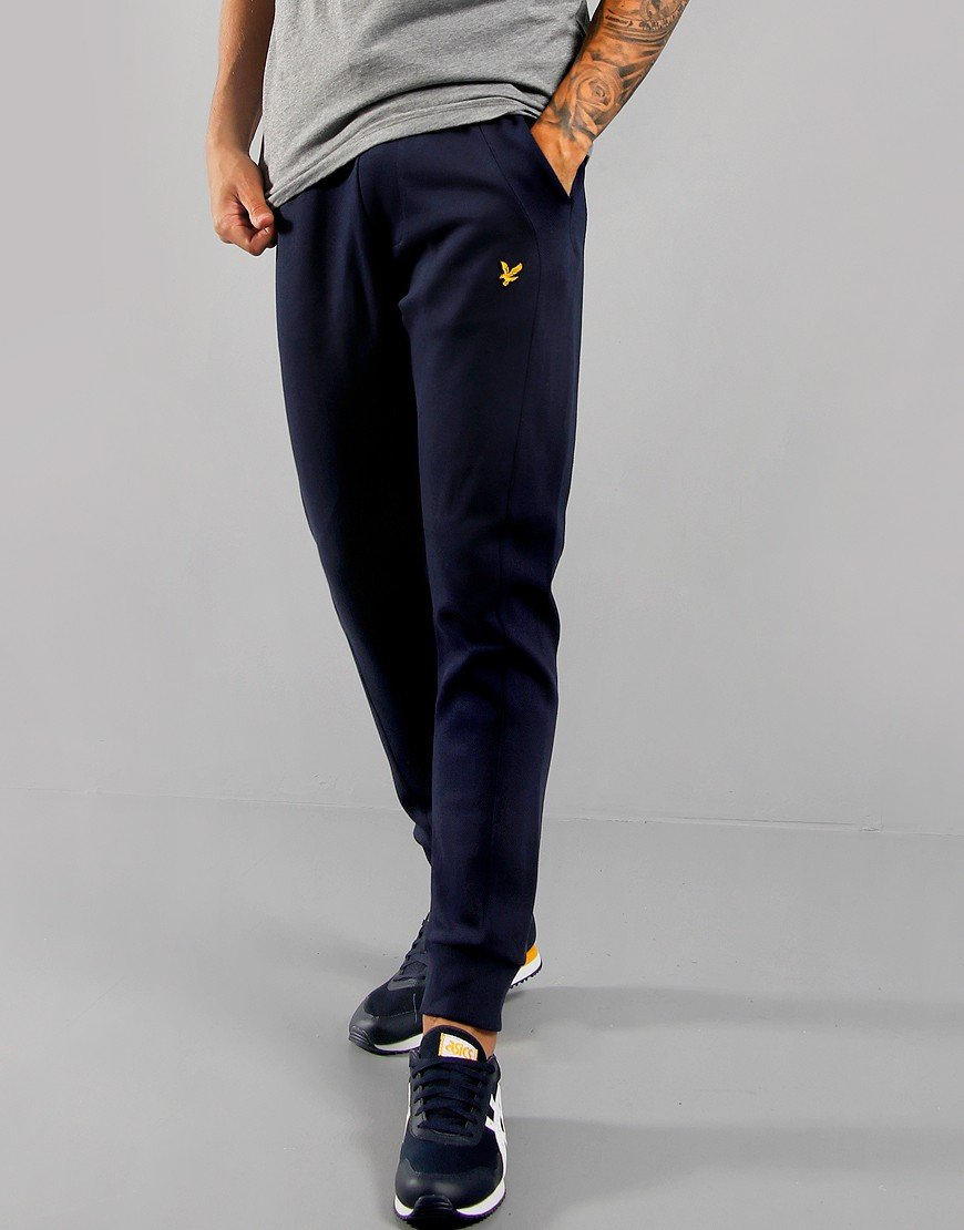 Lyle & Scott Piqué Trackpants Navy