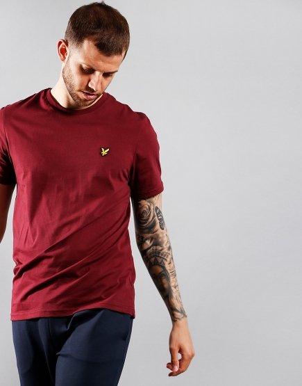 Lyle & Scott Plain T-Shirt Merlot