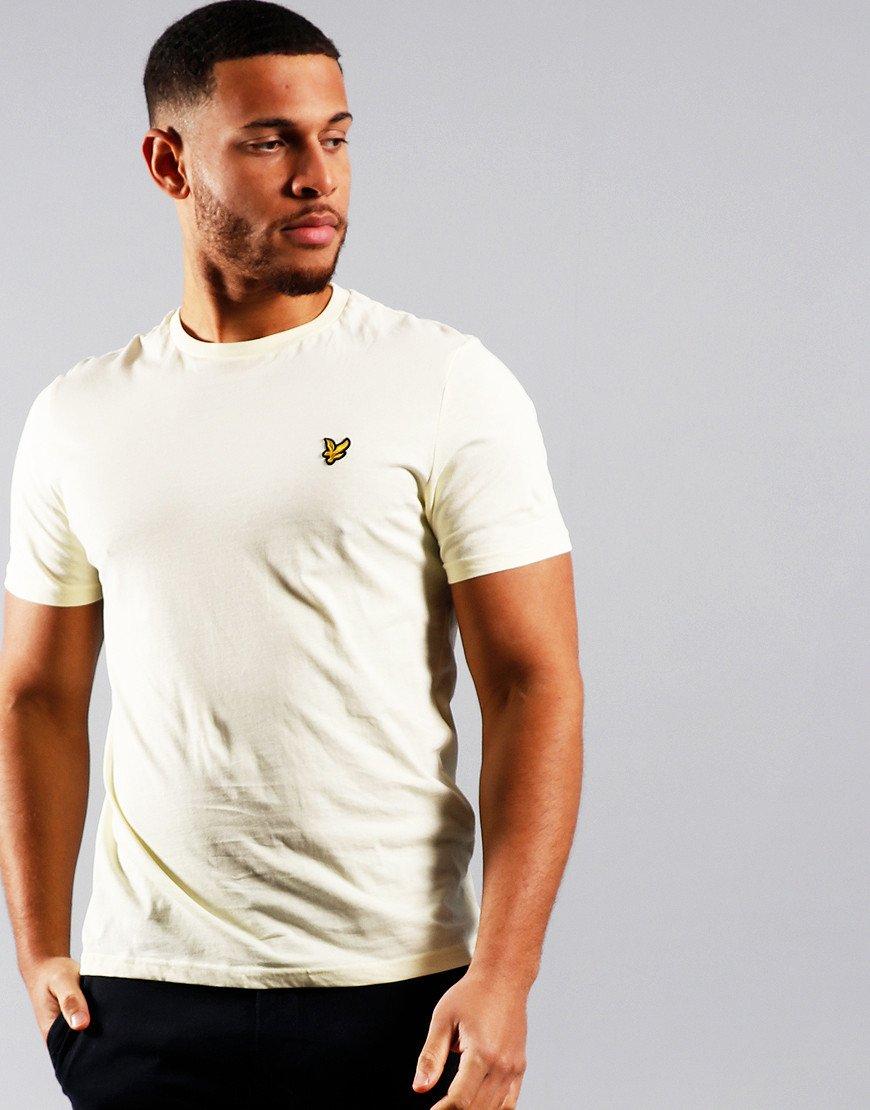 Lyle & Scott Plain T-Shirt Buttercream