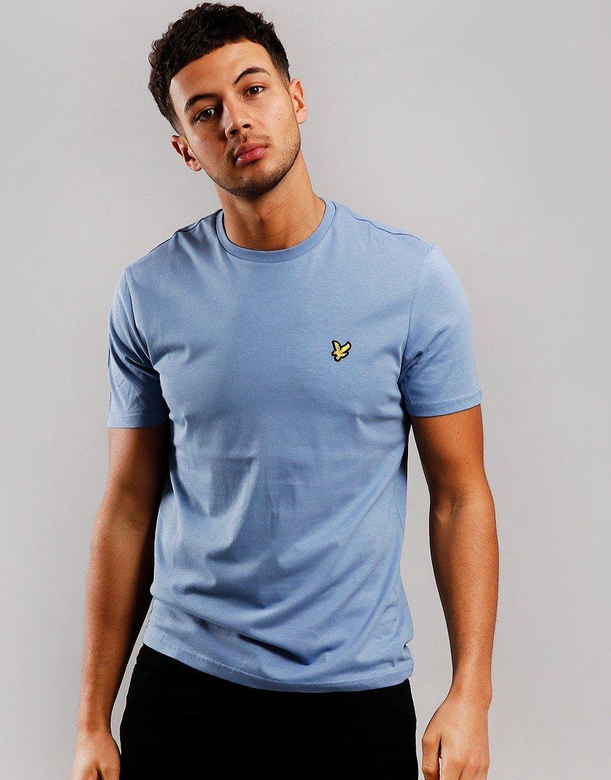 Lyle & Scott Plain T-Shirt Stone Blue