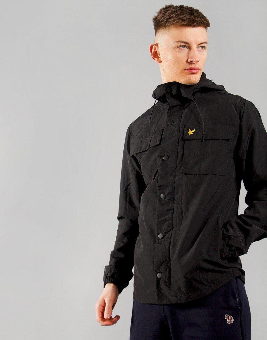 Lyle & Scott Pocket Jacket Jet Black