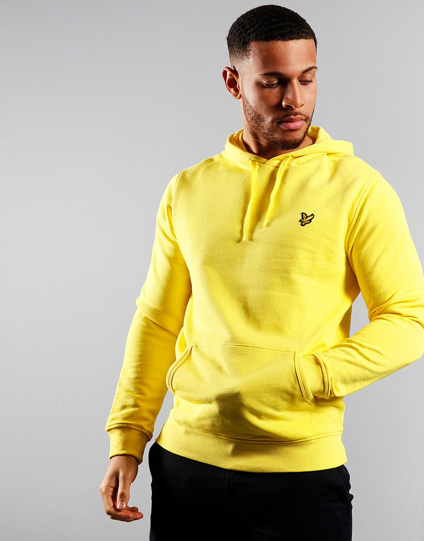Lyle & Scott Pullover Hoodie Buttercup Yellow