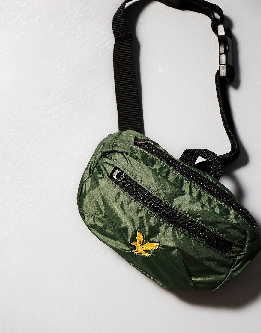 Lyle & Scott Ripstop Utility Bag Jade Green