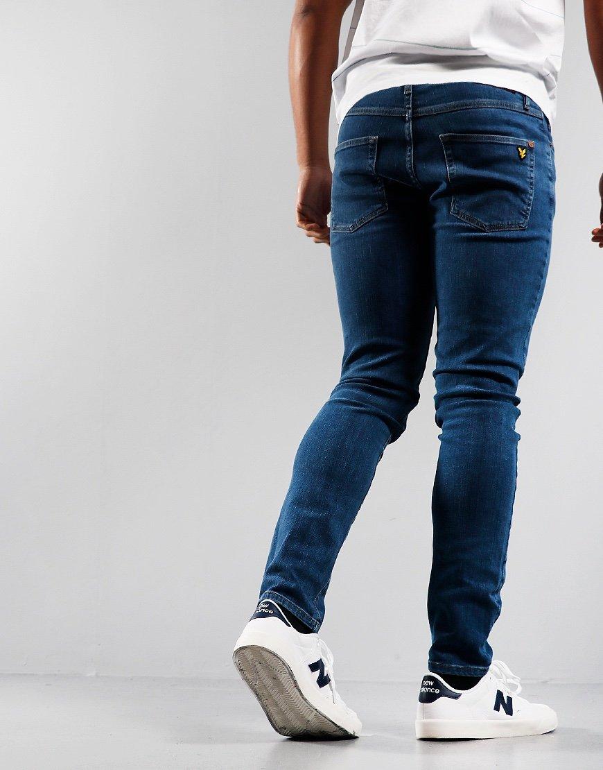 Lyle & Scott Slim Jeans Mid Wash