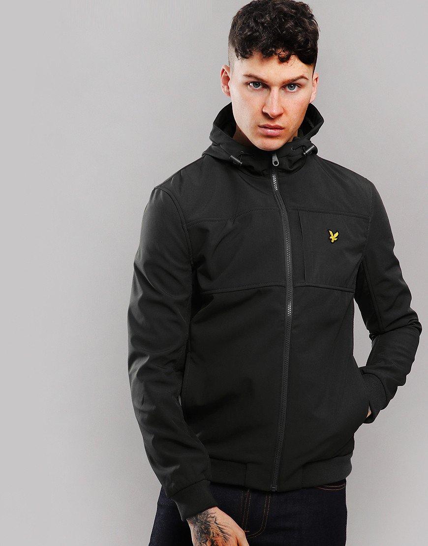 Lyle & Scott Softshell Chest Pocket Jacket Black