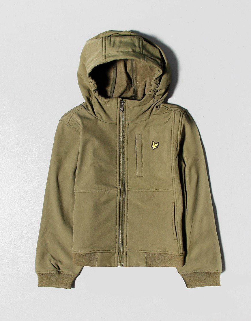 Lyle & Scott Softshell Zip Hoodie Grape